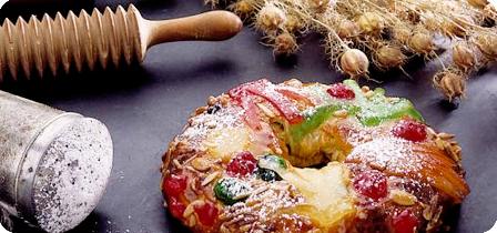 Torta de frutas secas e nozes